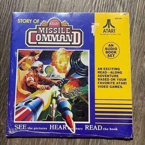 Vintage Atari Missile Command Record & Read along